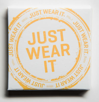 Just Wear It -kondomi- ja liukuvoidepakkaus
