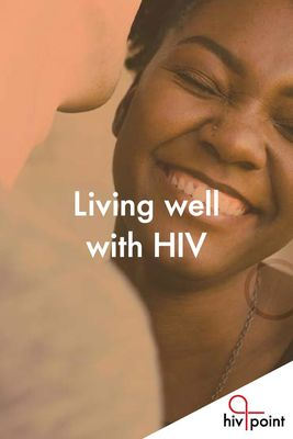 Living well with HIV -brochure